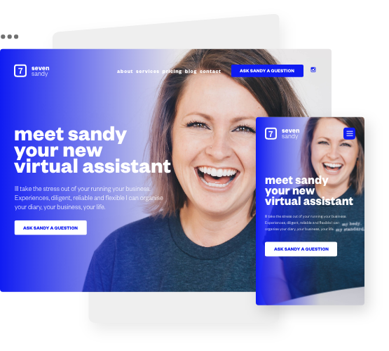 Website Design and Build for Home workers, self-employed